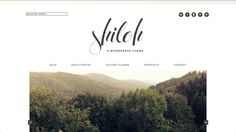 premade wordpress theme : shiloh by braveandbeautifulco on Etsy