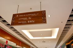 #Wayfinding- #ceilingsign -#shoppingriopoty - Brazil#brazilian design #design#shopping #malls