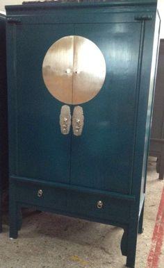 oriental style bedroom furniture. Saigon Oriental Style Solid Wood Wardrobe 2 Drawers Teal Bedroom Furniture