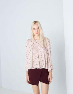 Bershka Lithuania - Bershka loose blouse