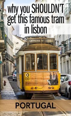 Lots of guides say that one of the best things to do in Lisbon is catch the Tram 28. Well, I don't agree. It's so popular these days that the lines are too long and the carriages too crowded. I think instead you should walk the Tram 28 route. This guide will show you the route and what to see along the way!