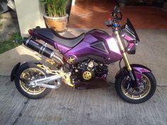 Honda Grom Purple