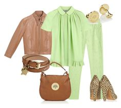 Chic by outfits-de-moda2 on Polyvore featuring moda and Mulberry