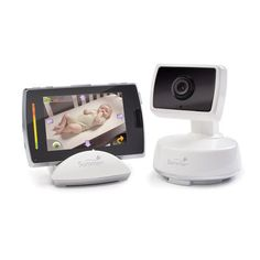 So important for those exhausting nights--there will be many.  BabyTouch Boost Digital Color Video Monitor   giggle