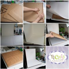 Homemade photo studio DIY / Foto Estudio hecho en casa