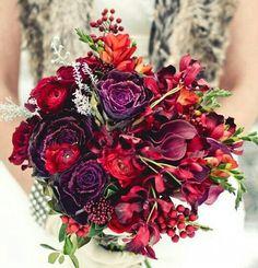 Deep rich passionate colours