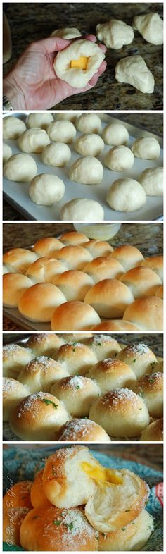 Cheddar Cheese Surprise Rolls