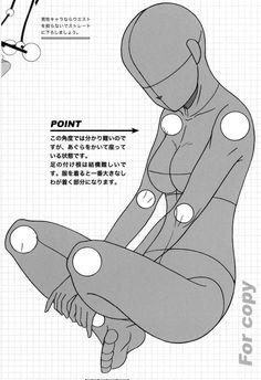 Ako kresliť sediacu postavu