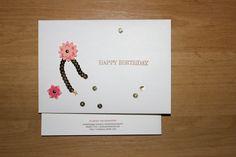 Stampin´Up!, Kreatives Muthaus, Happy Birthday mit Schmetterlingsgruß, die Vorderseite des Umschlags Mehr unter: muthaus.jimdo.com