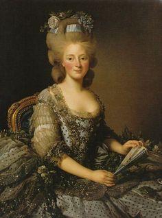 Maria Amalia Duchess Consort of Parma by Alexander Roslin