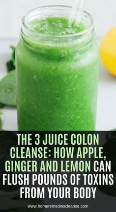 Apple, Ginger And Lemon Makes the Most Powerful Colon Cleanser, It'll Flush Pounds Of Toxins From Your Body! - Organic Remedies Tips Herbal Remedies, Health Remedies, Natural Remedies, Herbal Cure, Turmeric Water, Turmeric Spice, Detox Kur, Colon Cleansers, Natural Colon Cleanse