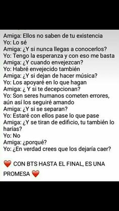 Read con bts hasta el final 💖 from the story frases - imagenes para ARMY'S by teelchan (teel chan) with reads. No importa si ja. K Pop, Na Haeun, Frases Bts, Curious Facts, Vkook, Kpop Memes, Bts Chibi, Bts Lockscreen, I Love Bts