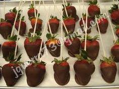 frutillas decoradas - Buscar con Google Cherry, Fruit, Google, Food, Eggs, The Fruit, Meals, Prunus, Yemek