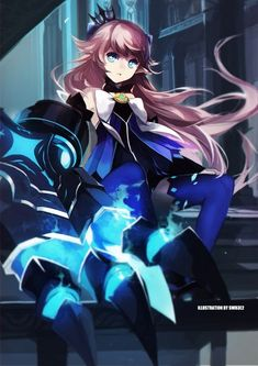 Tags: Anime, Swd3e2, Elsword, Lu (Elsword)