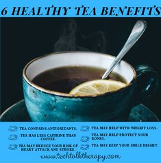 🍵🍵🍵 Good Morning and Happy Monday! 🍵🍵🍵 If you haven't poured a cup already, this might be a great time to drink some healthy tea! 🍵🍵🍵 After all, as you can see, tea has many benefits. 🍵🍵🍵 What's your favorite tea? Addiction Therapy, Trauma Therapy, Tea Benefits, Happy Monday, Tech, Drink, Healthy, Ethnic Recipes, Food