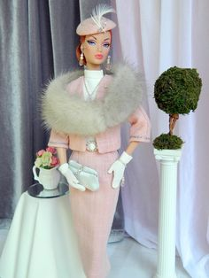 ««Pink Frost»» OOAK Fashion Royalty/Silkstone Barbie by Joby Originals