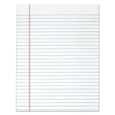 Notebook Paper Printable, Printable Paper, Home Office Organization, Organizing Your Home, Lined Writing Paper, Online Paper, Glue Book, Sheet Sizes, Shopping Hacks