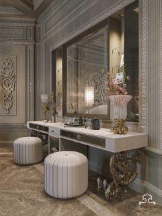 versace & cavalli style on Behance Luxury Homes Interior, Luxury Home Decor, Interior Exterior, Home Interior Design, Design Interiors, Modern Luxury Bedroom, Luxury Bedroom Design, Luxurious Bedrooms, Versace Home