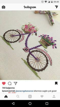Cross Stitch Cushion, Small Cross Stitch, Cross Stitch Flowers, Cross Stitching, Cross Stitch Embroidery, Hand Embroidery, Embroidery Designs, Modern Cross Stitch Patterns, Cross Stitch Designs