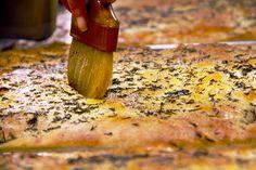 Bellisio's own, made every day foccacia Italian Village, Italian Recipes, Banana, Restaurant, Food, Meal, Diner Restaurant, Essen, Restaurants