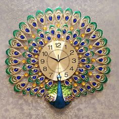 Long Skirt And Top, Peacock Wall Art, Fenton Glass, Decorating Ideas, Clock, Passion, Paintings, Interiors, Flowers