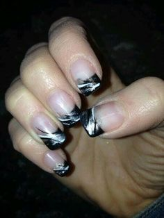 Black and silver..
