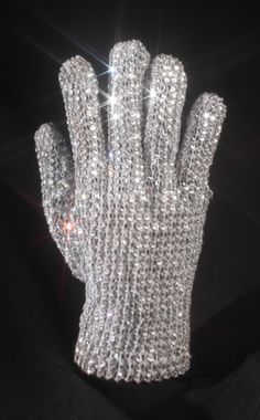 Iconic Michael Jackson Glove-Shawn had the glove and the jacket and would wear it to practice dancing in the living room. He wanted to be Michael for years.