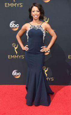 Angel Parker: 2016 Emmys Red Carpet Arrivals