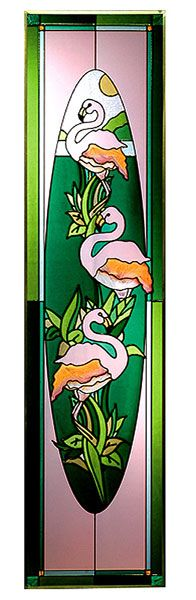 67 Best Flamingo Mosaics Stained Glass Tiles Images