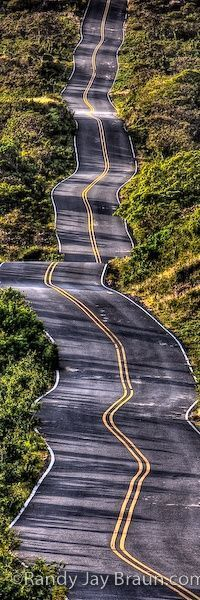 Maui, Hawaii. The Back Road To Hana. Car rental agencies don't want you to take their cars on this road.