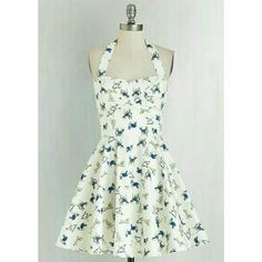 Modcloth Dog Print Pinup Style Dress Zipper was replaced. Otherwise brand new. Super cute! Great quality. ModCloth Dresses