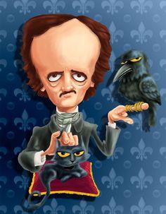 Edgar Allan Poe, Paul Sharp