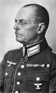 Field Marshal Karl Rudolf Gerd von Rundstedt in an official portrait in 1941.