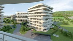 Multi Story Building, City, Google, Graz, Green Life, Photo Illustration, Apartments, Cities