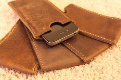 Vind het iPhone hoesje van leer waar jij naar op zoek bent  - #leather iphone 4 case etsy   Leather iPhone 5 case slipcover sleeve Handmade in USA Minimalist Top Grain Genuine Leather. $19,49, via Etsy. - http://ledereniphonehoesjes.nl/slimme-iphone-6-hoesjes/