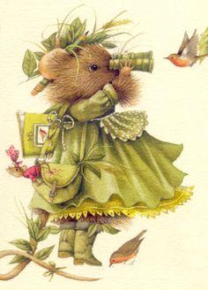 Marjolein Bastin...A bit of bird watching day~