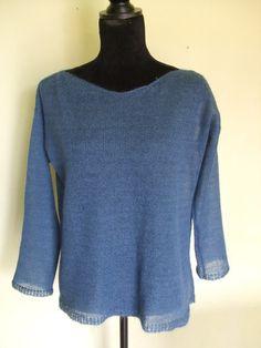 Magliette scollo rotondo - maglia lana mohair donna - un prodotto unico di dorazimorena su DaWanda