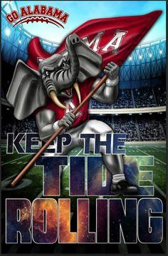 Heeeeeeeeeellll yes I love this BAMA nation Alabama Tide, Alabama Crimson Tide Logo, Crimson Tide Football, Alabama College, University Of Alabama, College Football, Alabama Room, Football Pics, Football Crafts
