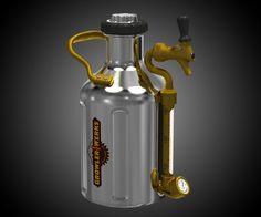 Stuff like the uKeg, a portable pressurized growler for tap-fresh beer on demand, always comes from Oregon. Those dudes love their microbrews. And they're mad scientific geniuses about flooding the industry with tasty craft products and accessory in