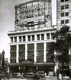 Madison Theatre Vintage Exterior Detroit, 1920u0027s