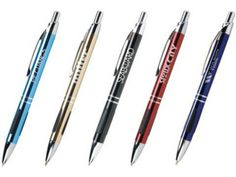 Vienna Metal Pen - $1.25/each with a LASER engraved logo