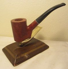 Vintage Rustic Handmade Lakotah 8-1983 Poker Briar Estate Tobacco Smoking Pipe