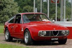 The beautiful Alfa Romeo Junior Zagato 1600