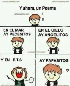 Read 1 from the story Memes de BTS by with reads. Hola gente hermosa :D aquí les traigo unos hermosos. Hoseok, Seokjin, Namjoon, Death Note Funny, Funny Spanish Memes, Relatable Tweets, Blackpink And Bts, I Love Bts, Foto Bts
