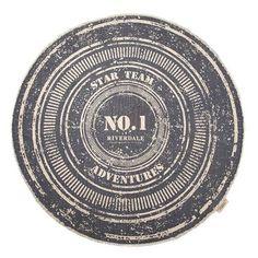 Dit vloerkleed is gemaakt van katoen en heeft een blauwe kleur. Het vloerkleed heeft een doorsnede van 120 cm.