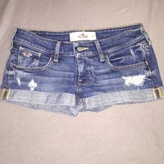 HOLLISTER JEAN SHORTS HOLLISTER DENIM JEAN SHORTS. SIZE 1/ WAIST 25. EXCELLENT CONDITION. Comparable to Abercrombie & Fitch and American Eagle Outfitters. Hollister Shorts Jean Shorts