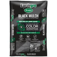 Earthgro 2 cu. ft. Black Mulch