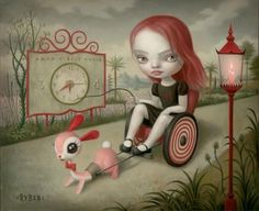 """""""Jessica's Hope"""" by Mark Ryden."""