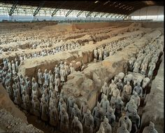 Terra Cotta Soldiers, Xi´an, China.