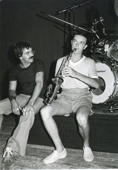 Peter Erskine and Jaco Pastorius